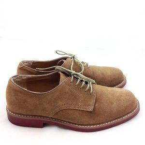 Bass Tan Suede Oxford Shoes 9 - N730&